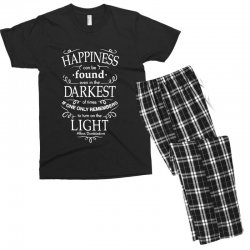 harry potter dumbledore happiness quote Men's T-shirt Pajama Set | Artistshot