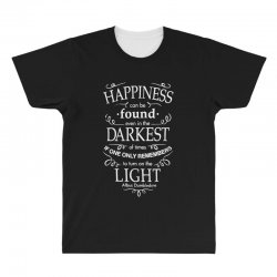 harry potter dumbledore happiness quote All Over Men's T-shirt | Artistshot