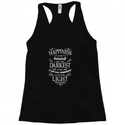 harry potter dumbledore happiness quote Racerback Tank | Artistshot