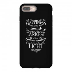 harry potter dumbledore happiness quote iPhone 8 Plus Case | Artistshot