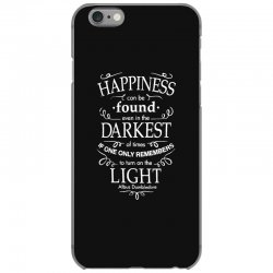 harry potter dumbledore happiness quote iPhone 6/6s Case | Artistshot