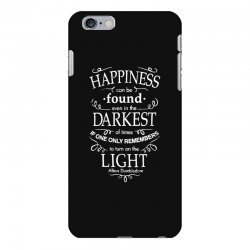 harry potter dumbledore happiness quote iPhone 6 Plus/6s Plus Case | Artistshot