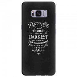 harry potter dumbledore happiness quote Samsung Galaxy S8 Plus Case | Artistshot