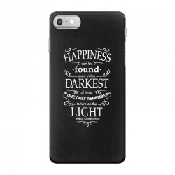 harry potter dumbledore happiness quote iPhone 7 Case | Artistshot