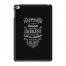harry potter dumbledore happiness quote iPad Mini 4 Case | Artistshot