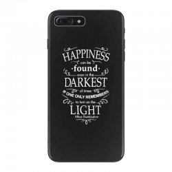 harry potter dumbledore happiness quote iPhone 7 Plus Case | Artistshot