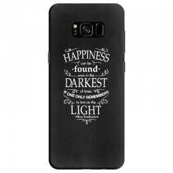 harry potter dumbledore happiness quote Samsung Galaxy S8 Case | Artistshot