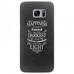 harry potter dumbledore happiness quote Samsung Galaxy S7 Edge Case | Artistshot