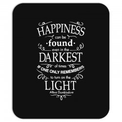 harry potter dumbledore happiness quote Mousepad | Artistshot