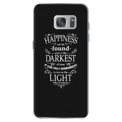 harry potter dumbledore happiness quote Samsung Galaxy S7 Case | Artistshot