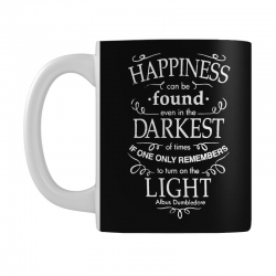 harry potter dumbledore happiness quote Mug | Artistshot