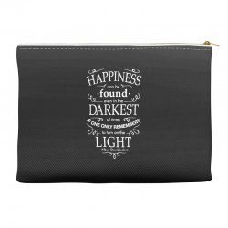 harry potter dumbledore happiness quote Accessory Pouches | Artistshot