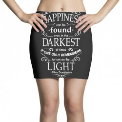 harry potter dumbledore happiness quote Mini Skirts | Artistshot