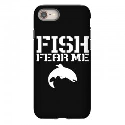 fish fear me funny fishing iPhone 8 Case | Artistshot