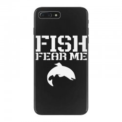 fish fear me funny fishing iPhone 7 Plus Case | Artistshot
