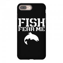 fish fear me funny fishing iPhone 8 Plus Case | Artistshot