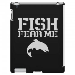 fish fear me funny fishing iPad 3 and 4 Case | Artistshot