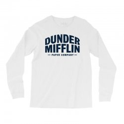 dunder mifflin paper company Long Sleeve Shirts | Artistshot