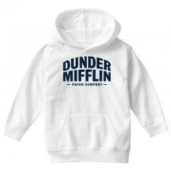 dunder mifflin paper company Youth Hoodie | Artistshot