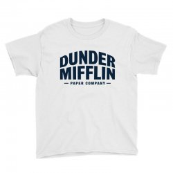 dunder mifflin paper company Youth Tee | Artistshot