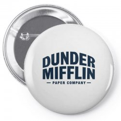dunder mifflin paper company Pin-back button | Artistshot