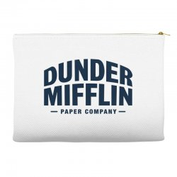 dunder mifflin paper company Accessory Pouches | Artistshot