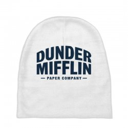 dunder mifflin paper company Baby Beanies | Artistshot