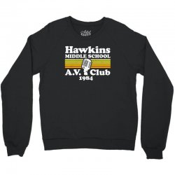 hawkins middle school av club Crewneck Sweatshirt | Artistshot