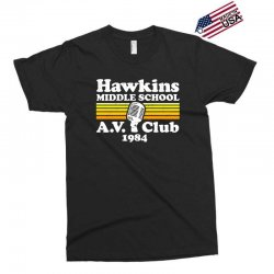 hawkins middle school av club Exclusive T-shirt | Artistshot