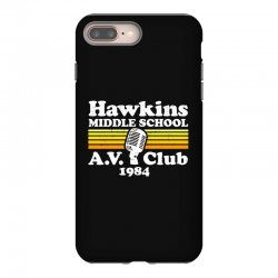 hawkins middle school av club iPhone 8 Plus Case | Artistshot