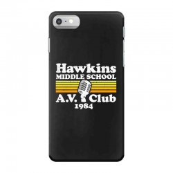 hawkins middle school av club iPhone 7 Case | Artistshot