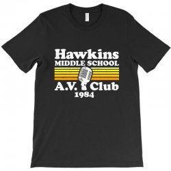 hawkins middle school av club T-Shirt | Artistshot