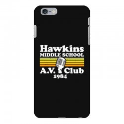 hawkins middle school av club iPhone 6 Plus/6s Plus Case | Artistshot