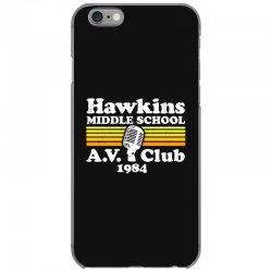 hawkins middle school av club iPhone 6/6s Case | Artistshot