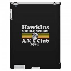 hawkins middle school av club iPad 3 and 4 Case | Artistshot