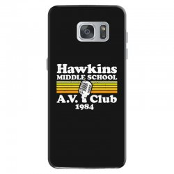 hawkins middle school av club Samsung Galaxy S7 Case | Artistshot