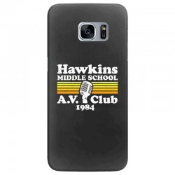 hawkins middle school av club Samsung Galaxy S7 Edge Case | Artistshot