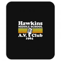 hawkins middle school av club Mousepad | Artistshot