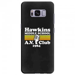hawkins middle school av club Samsung Galaxy S8 Plus Case | Artistshot