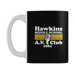 hawkins middle school av club Mug | Artistshot