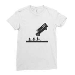 hawkins power and light Ladies Fitted T-Shirt | Artistshot