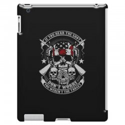 hear the shot iPad 3 and 4 Case | Artistshot