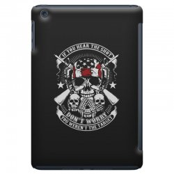 hear the shot iPad Mini Case | Artistshot