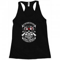 hear the shot Racerback Tank | Artistshot