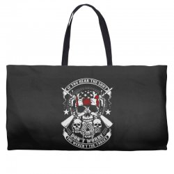 hear the shot Weekender Totes | Artistshot