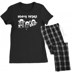 heavy metals chemist elements periodic table funny Women's Pajamas Set | Artistshot