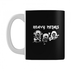 heavy metals chemist elements periodic table funny Mug | Artistshot