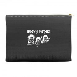 heavy metals chemist elements periodic table funny Accessory Pouches | Artistshot