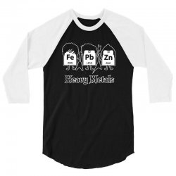 heavy metals periodic table science 3/4 Sleeve Shirt | Artistshot