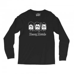 heavy metals periodic table science Long Sleeve Shirts | Artistshot
